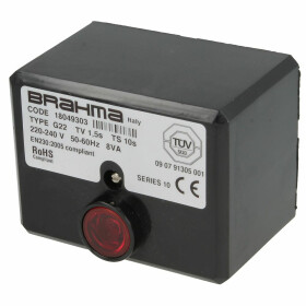 Control unit Brahma G22, TV 1.5s, TS 10s 230 V, 50 Hz, 8...