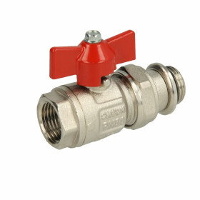 """Ball valve with screw connection 1/2"""""""