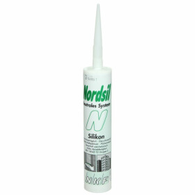 Nordsil N neutral silicone light grey 310-ml cartridge