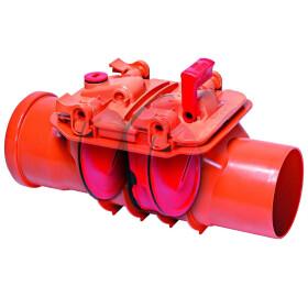Kessel Double-flap backwater valve Staufix DN 100 for...