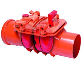 Kessel Double-flap backwater valve Staufix DN 125 for...