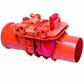 Kessel Single-flap backwater valve Staufix DN 100 for...