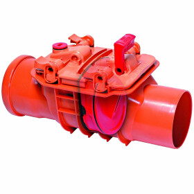 Kessel Single-flap backwater valve Staufix DN 150 for...