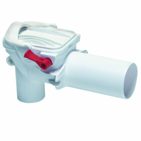 Kessel Double-flap backwater valve Staufix DN50 basin...