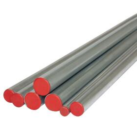 C-steel pipe 2 m bar 22 x 1.5 mm externally galvanised