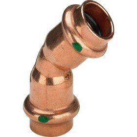 Viega Profipress elbow 54 mm 45° F/F V contour 292393