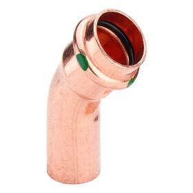 Viega Profipress elbow 15 mm 45° F/M V contour 292508