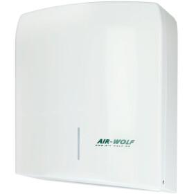Air-Wolf paper towel dispenser Gamma, white
