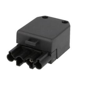Burner connector Wieland plug 4-pole, socket