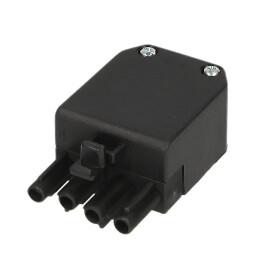 Burner connector Wieland plug 4-pole, male plug