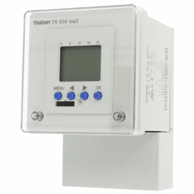 Theben TR635 TOP, digit. timer, wall/ front panel...