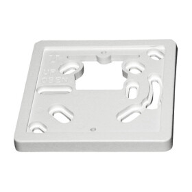 Adapter plate f. UP socket 79 x 79 mm for Theben...
