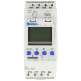 Theben TR610 TOP3 digit. timer, DIN rail 2 HP, 1-channel,...