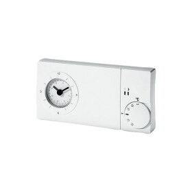 Timer thermostat, easy 3 pt pure white