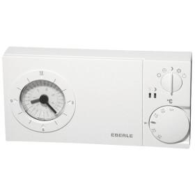 Eberle clock thermostat + quartz cloc easy 3 sw