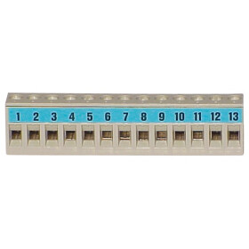 Connection terminal BL 13 blue for EBV, Delta 1-stage,...