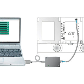 Service software incl. USB cable for all OEG DHR...