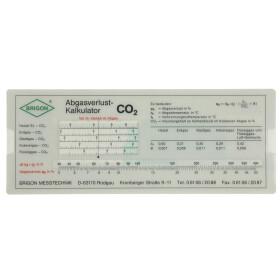 Flue gas loss calculator Brigon, 6110