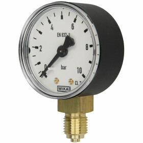 Manometer R 1/4 radial