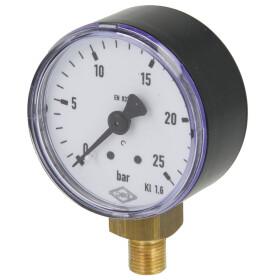 """Pressure gauge R 1/4"""" radial"""