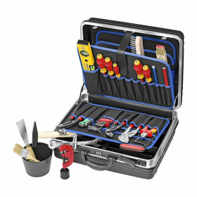 Knipex Tool case stocked for sanitation- heating-air...