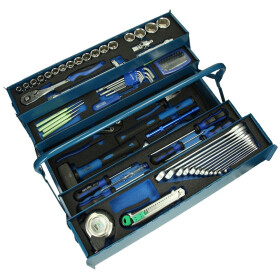 Heytec Heyco mounting tool case stocked 58 pieces blue...