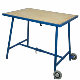Work table on wheels 1,000 x 700 x 850 mm
