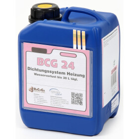 BCG 24 tube sealing compound for leaks in boilers 2.5 litres