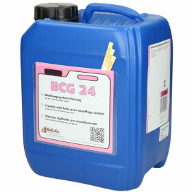 Tube sealing compound BCG24 f. leaks in boilers, 5 litres