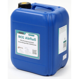 Liquid sealing agent, BCG drain, f. loss of water in...