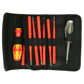 WERA VDE screwdriver folding bag with reduced shaft...