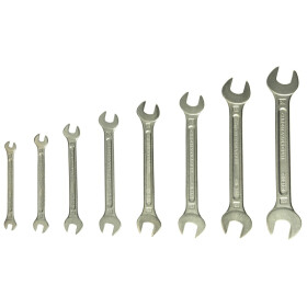 Heytec Double-ended open jaw wrench set 8-piece 50800944080