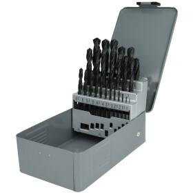 Keil HSS twist drill set DIN 338 with straight shank...