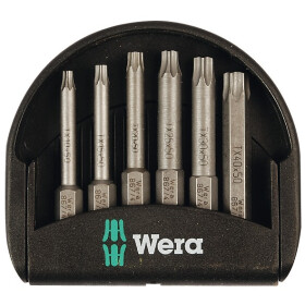 Wera Torx bits in Mini-Check 5056472001