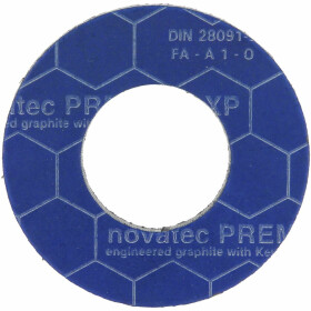 Special flange seals PN 10/16/40, 35 x 70 mm