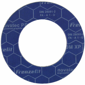 Special flange seals PN 10/16/40, 61 x 107 mm
