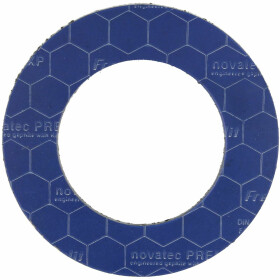 Special flange seals PN 10/16/40, 77 x 127 mm