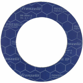 Special flange seals PN 10/16/40, 90 x 142 mm