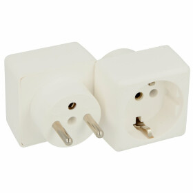 Bachmann Adapter plug France/safety plug France, Belgium,...