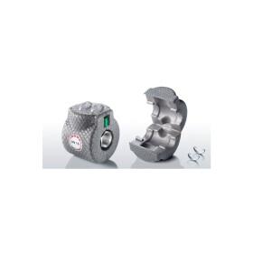 Isowa vela clip for straight seat/ball valves