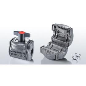 Isowa vela clip 2.0 for straight seat valves, DN 25/32