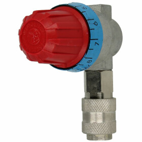 Pressure regulator for compressor Handy oilfree type...