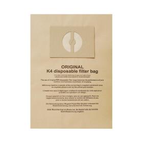 Kesselstaubsauger-Filtertüten K4