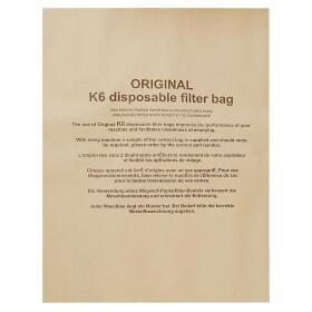 OEG Kesselstaubsauger-Filtertüten K6