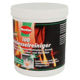 Sotin 100 boiler cleaner for solid fuels 500 g can