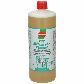 Sotin R 77, drain cleaner, concentrate 1 l bottle