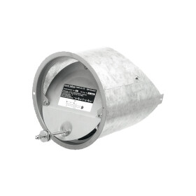 Draft limiter Z 6 for flue pipe, 130, 150, 160 mm