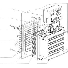 Afriso room ventilation Air Control