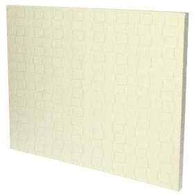 Ceramic fibre plate FIRE-BOARD 500 x 400 x 25 mm, up to...