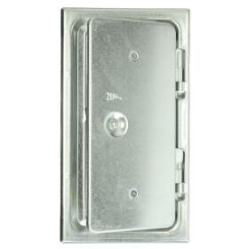 Upmann chimney doors steel sheet 10052